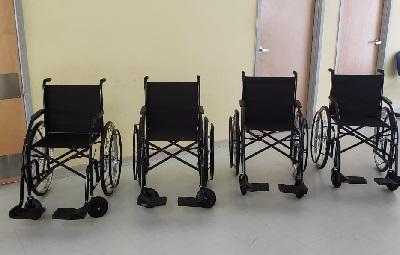Cadeiras de Roda no Hospital